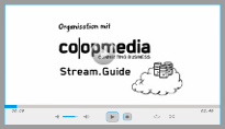 Projektmanagement Stream.Guide Videoclip